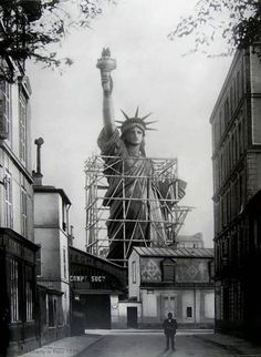 What an honor it would of been to be part of the moving and shipping team of The Statue of Liberty-Ellis Island Foundation, Inc.