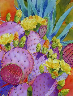 Cheryl Brajner Weinfurtner   WATERCOLOR