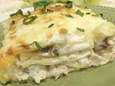 Aunt Peg's Recipe Box: Chicken and Artichoke Lasagna in Creamy White Sauce