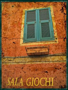 Italian Windows #4, Laigueglia by h_roach - Moving and will be busy for a while, via Flickr
