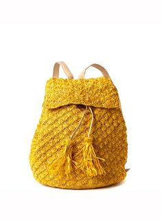 Zadie Crocheted Backpack