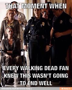 Pretty much! But i didn't even see beth dying. It totally took me by surprise and cried for almost 3 days straight... even at work I would just start sobbing over her! (Everyone thought I was crazy)