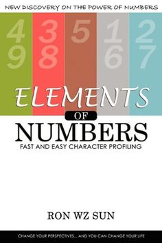 Elements of Numbers: Fast and Easy Character Profiling by Ron WZ Sun http://www.amazon.com/dp/193572309X/ref=cm_sw_r_pi_dp_-uhaub1ZE7VBK