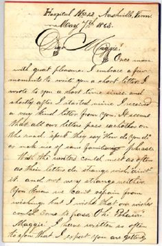 Civil War Writings - Letters Home     Most people will find at least one ancestor on their tree who served in some form during the American Civil War (1861-1865). Since people are fascinated with this time frame in American history, many archives and records have been saved over the decades.    A good online resource is Civil War Archives. This site has Union and Confederate Regimental Histories, Union Corps Histories, Soldier's Letters and Diaries.    #familytree #genealogy #civilwar…