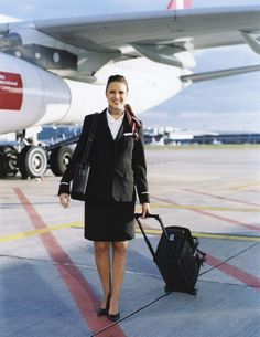 Stewardesses from All Over the World Switzerland, Swiss Airlines