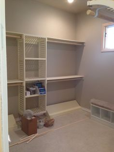 Beautiful Closet Waiting For Marble Island In Master Open Concept Living Room With  Center Kitchen 11 Foot