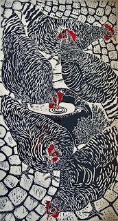 maran chickens - art .  Do look at Deb Steinbecks board.  Wonderful chicken art