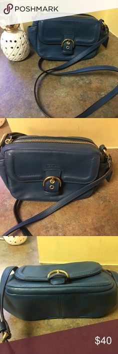 Coach Purse NWOT - Teal coach purse 👛 never used and has been sitting in my closet. Coach Bags