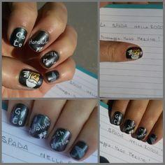 """CHIKI88...  my passion for nails!: Nail art """"La magia del cinema"""" + haul mi-ny - ovve..."""