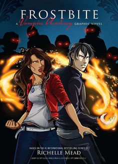 Frostbite: The Graphic Novel (Vampire Academy: The Graphic Novel, #2) by Richelle Mead