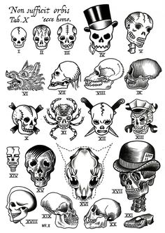 How many skulls can I have tattooed on me before it becomes too creepy...