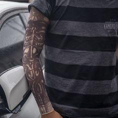 ab345d57c Halloween Alien Slip on Nylon Elastic Stocking Fake Arm Temporary Tattoo  Sleeves Temporary Tattoo Sleeves,