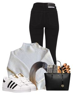 """""""Untitled #424"""" by reyan ❤ liked on Polyvore featuring Dr. Denim, Vanessa Bruno, adidas, Case-Mate and MICHAEL Michael Kors"""