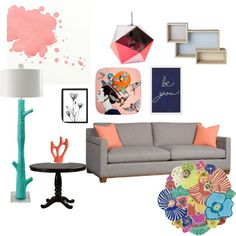 splash! by maritpolaris on Polyvore featuring polyvore interior interiors interior design home home decor interior decorating Stray Dog Designs Missoni Home Ashley Longshore Souda Bloomingville Pottery Barn