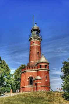 Leuchtturm Holtenau (lighthouse) on the north shore of the entrance to Nord-Ostsee-Kanal (Kiel Canal), Germany, looks like it will stand forever. Travel Forums, Lighthouse Pictures, Rocky Shore, Beacon Of Light, The World's Greatest, Architecture Design, Beautiful Places, Scenery, Places To Visit