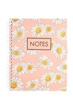 Pretty daisies on the cover at Typo. A4 collegiate notebook