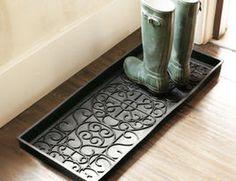Rubber Boot Tray - traditional - accessories and decor - Ballard Designs