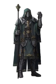 Character Concept art: Mage by kenji893