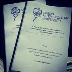 leeds dissertation
