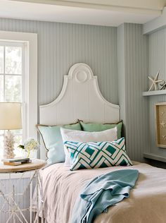 cottage bedroom by Jennifer Palumbo