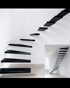 I love atypical staircases.