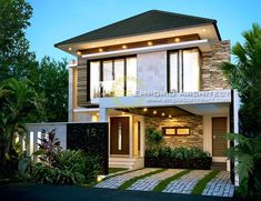 Ella Private House - Jakarta- Quality house design of architectural services, experienced professional Bali Villa Tropical designs from Emporio Architect.