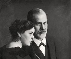 Sigmund Freud and daughter Sofi