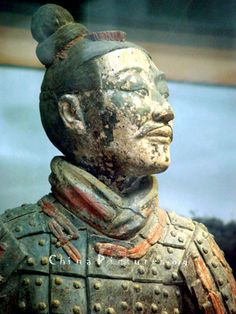 Xi'an Polychrome Terracotta Warriors Pictures: Photo of polychrome terracotta army in the Terra Cotta Warriors Museum, Xi'an. Ancient China, Ancient Art, Qin Dynasty, Terracotta Army, Chinese Prints, Sculptures Céramiques, China Art, Chinese Culture, Traditional Art