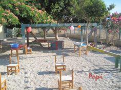 Καλοκαιρινή γιορτή με ομαδικά παιχνίδια Team Activities, Group Work, Outdoor Furniture Sets, Outdoor Decor, Diy And Crafts, Patio, Summer, Play, Home Decor