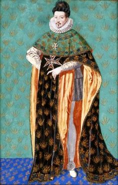 Portrait of Henry III Valois in the costume of the Order of the Holy Spirit. .... Date	circa 1610