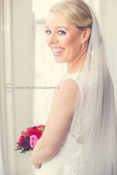 Professional Wedding Photographer based in Kildare - Timeless Natural & Creative Ireland Wedding, Beautiful Bride, One Shoulder Wedding Dress, Wedding Day, White Dress, Happiness, Wedding Photography, Smile, Portrait