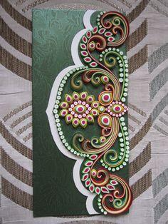 quilling.  Work by Kinnari Gada