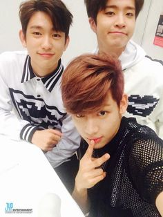 Jr., YoungJae, and BamBam