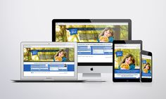 Responsive web design and branding for Family for Me White Space Advertising – Design and Web agency based in Devon