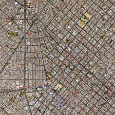 Civilização em perspectiva: O mundo visto de cima,Guadalajara, Mexico. Image Courtesy of Daily Overview. © Satellite images 2016, DigitalGlobe, Inc