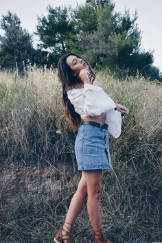 Denim Skirt trend | Nadrobe