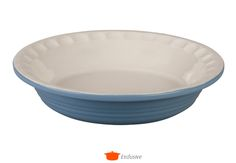 After making tons of pies in my pyrex...i'm wishing for a nice rim like this.