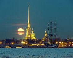 Петропавловская крепость / Peter and Paul Fortress in Санкт-Петербург