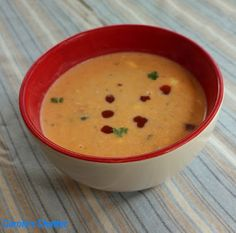Carole's Chatter: Smoked Salmon Chowder - a beautie! Garlic Infused Olive Oil, Garlic Oil, Smoked Salmon Chowder, Bite Size, Soups And Stews, Cheeseburger Chowder, Stuffed Peppers, Friday, Quotations