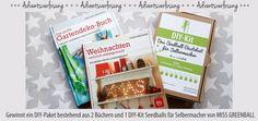+++ Adventsverlosung - DIY Home & Garden +++  Kommentiert den Blogbeitrag bis zum 06.12.15 und ihr könnt ein DIY-Paket bestehend aus 2 Büchern und 1 DIY-Kit Seedballs für Selbermacher von MISS GREENBALL gewinnen!  Die Teilnahmebedingungen findet ihr unter http://grüneliebe.de/adventsverlosung-diy-home-garden/