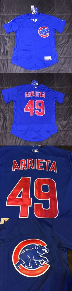 Baseball Shirts and Jerseys 181336: Men S Chicago Cubs Jake Arrieta Majestic Alternate Flex Base Jersey, L, Nwt -> BUY IT NOW ONLY: $99.99 on eBay!