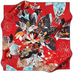Aker Autumn in Kyoto - Prosperous Red at www.hijabplanet.com - free shipping worldwide  #scarf #scarfs #silkscarf #hijab #hijabsyari #silkscarves #accessories #fashionpost #moda #WorldHijabDay