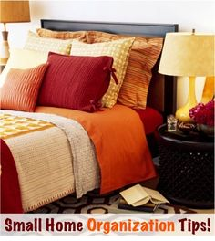 41 Creative Storage Solutions and Space Saving Tips for Small Homes! ~ from TheFrugalGirls.com #organizing