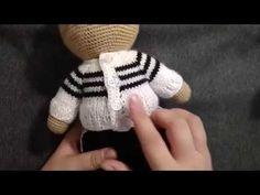 Спортивный костюм для Мишки тильда. часть 2.Свитер - YouTube