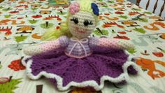 Rapunzel lovey doll I made