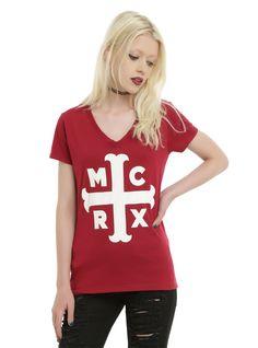 My Chemical Romance Cross Girls T-Shirt   Hot Topic