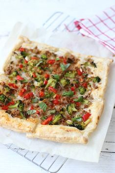 Quiches, Vegetable Pizza, Main Dishes, Dinner, Vegetables, Recipes, Food, Buffet, Party