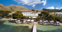 Hotel Illa d´Or, the best location in the Port of Pollensa.