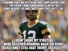 Excuses...excuses...