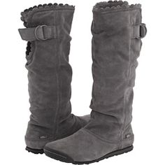 SIMPLE brand boots shoes vegan grey charcoal new nwot ECO recycled material http://www.ebay.fr/itm/291351625884?ssPageName=STRK:MEWAX:VRI&_trksid=p3984.m1438.l2661